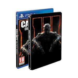 "Call of Duty Black Ops III sur PS4 - Édition Hardened (Steelbook + Carte multijoueur Nuk3town + Carte Bonus Zombies ""The Giant"")"