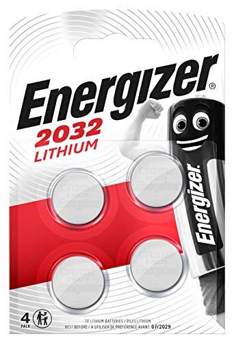 4 Piles bouton au lithium Energizer CR2032 (Vendeur Tiers)