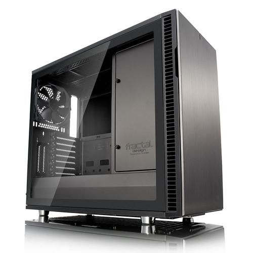 Boitier PC Fractal Design Define R6 Gunmetal TG - Noir
