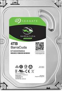 """Disque Dur interne 3.5"""" Seagate BarraCuda - 4 To (Frontaliers Suisse)"""