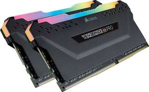 Kit Mémoire DDR4 Corsair Vengeance RGB Pro 16 Go (2 x 8 Go) - 3200 Mhz, CL16 (Via Coupon)