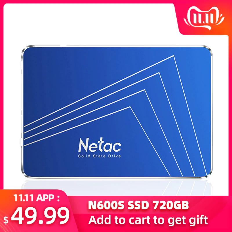 "SSD interne 2.5"" Netac N600S (SATA 3) - 1To"