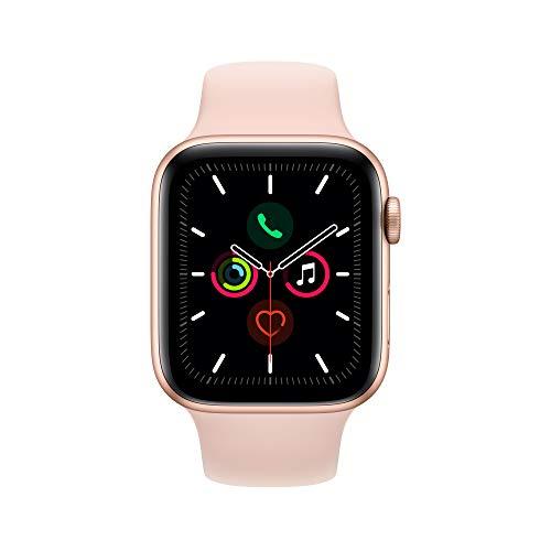 Montre GPS Apple Watch Series 5 Gold - 44mm