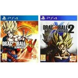 Jeux Dragon Ball Xenoverse + Dragon Ball Xenoverse 2 Compilation sur PS4 (0,9€ offerts en SuperPoints)