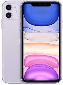 "Smartphone 6.1"" Apple iPhone 11 - A13, RAM 4 Go, 64 Go, Mauve (684,41€ avec le code ASGD11)"