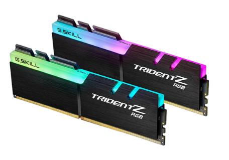 Kit Mémoire G.Skill Trident Z RGB 16Go (2 x 8Go) - DDR4-3000,CL16, DIMM 288)