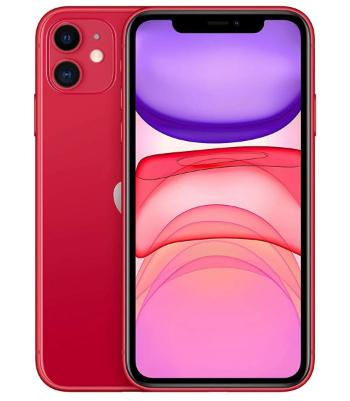 """Smartphone 6.1"""" Apple iPhone 11 - 64 Go, Rouge (+ 36.45€ en SuperPoints)"""