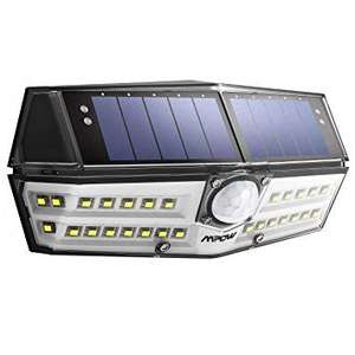 Lampe Solaire Etanche Mpow 30 LED - Détecteur de Mouvement, Panneau Solaire, 1800mAh (Vendeur tiers)