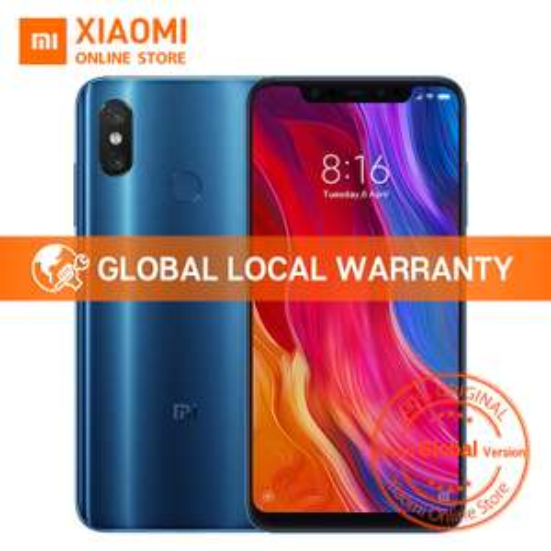 "Smartphone 6.21"" Xiaomi Mi 8 (Noir) - 6 Go de RAM, 64 Go (Version Globale)"
