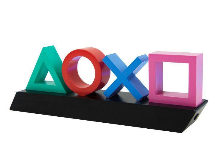 Lampe USB Symboles PlayStation Paladone