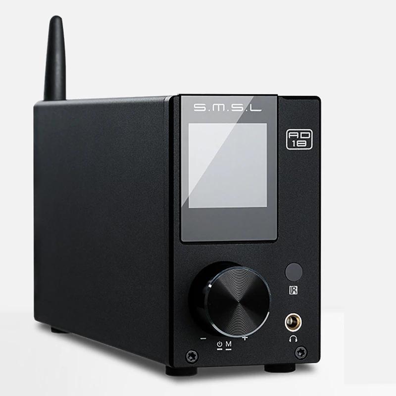 Amplificateur audio numérique SMSL AD18 FDA - Bluetooth, 2x80 W