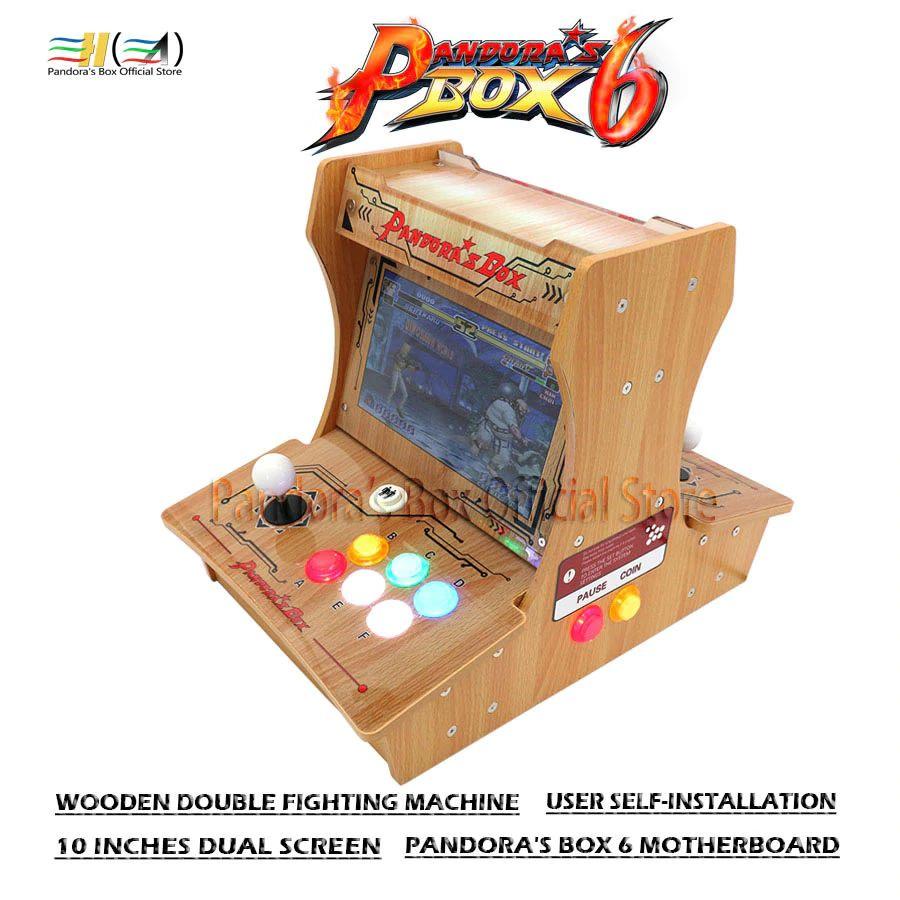 Bartop bois 2 joueurs Pandora box 6