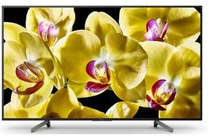 """TV 75"""" Sony KD75XG8096BAEP - LED, 4K UHD, HDR 10/HLG, Android TV, Processeur X1, X-Reality Pro"""