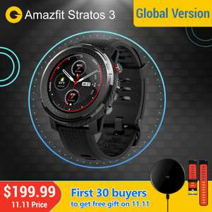 Montre connectée Amazfit Stratos 3