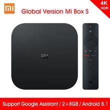 Box TV Android Xiaomi Mi Box S - 4K UHD, Cortex A53, 2 Go de RAM, 8 Go, Android 8.1