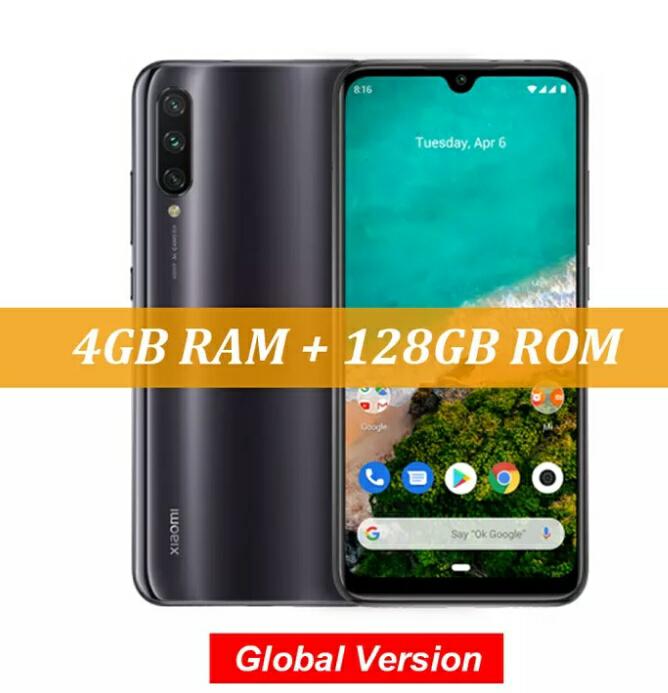 "Smartphone 6"" Xiaomi Mi A3 - 4 Go de RAM, 128 Go, Global Version"