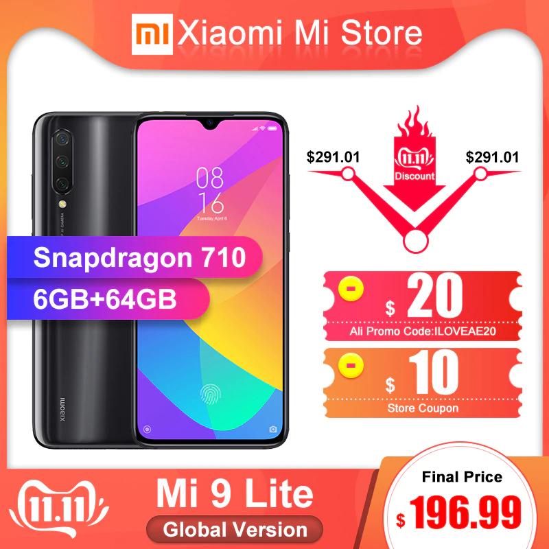 "Smartphone 6.39"" Xiaomi Mi9 Lite (Global) - 6 Go, 64 Go, 4G (B20/B28)"