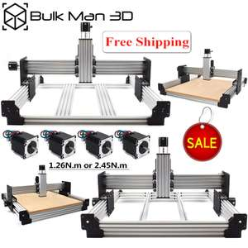 Kit châssis Workbee CNC Bulk Man 3D - 50*70 cm (frais de douanes inclus)