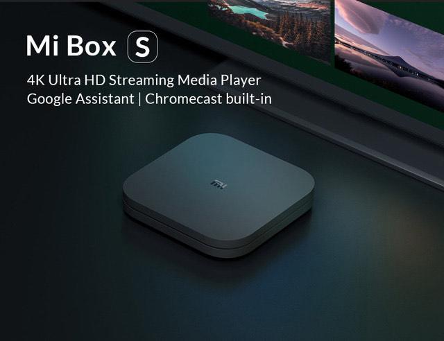 Box TV Android Xiaomi Mi Box S - 4K UHD, Cortex A53, 2 Go de RAM, 8 Go, Android 8.1 (Entrepôt France)