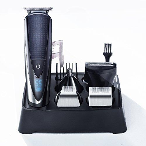 Tondeuse Multifonctions Hatteker pour Barbe, Cheveux, Poils et Nez (Vendeur Tiers)