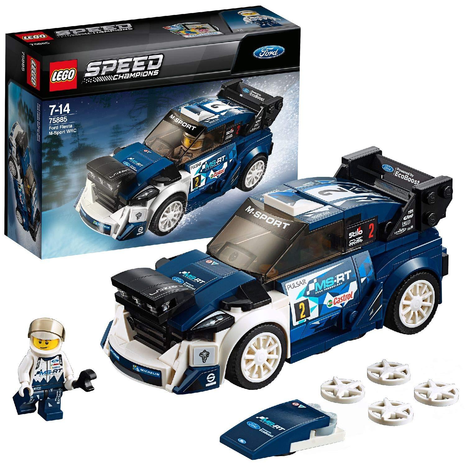 Lego Speed Champions 75885 - Ford Fiesta WRC M-Sport