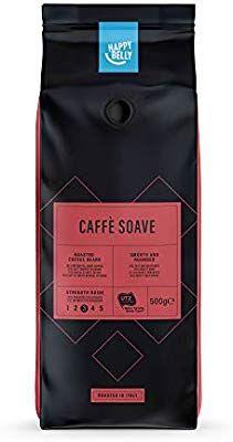 """Lot de 12 Sachets de Café en grains Happy Belly Café en grains """"Caffé Soave"""" - 500g"""