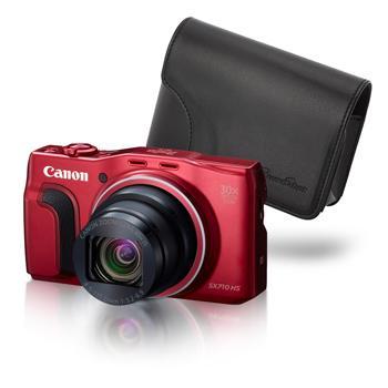 Appareil photo numérique Compact  Canon Sx710HS Noir ou Rouge