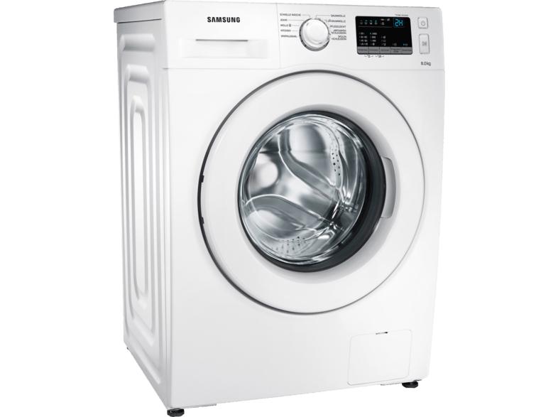 Machine à laver Samsung WW80J34D0KW - 8 kg, 1400 tr/min, A +++ (Frontaliers Allemagne)