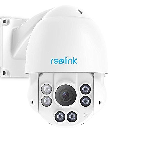 Caméra de surveillance à dôme motorisé Reolink RLC423 PoE - Zoom X4, 5 Mpix, Vision nocturne (Vendeur Tiers)