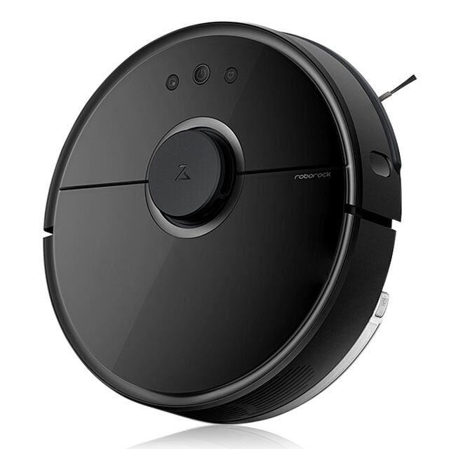 Aspirateur Robot Xiaomi Roborock V2 - S55 (Noir) ou S50 (Blanc) - Entrepôt Espagne