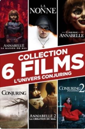 Collection de 6 films de l'univers Conjuring (Dématérialisé)