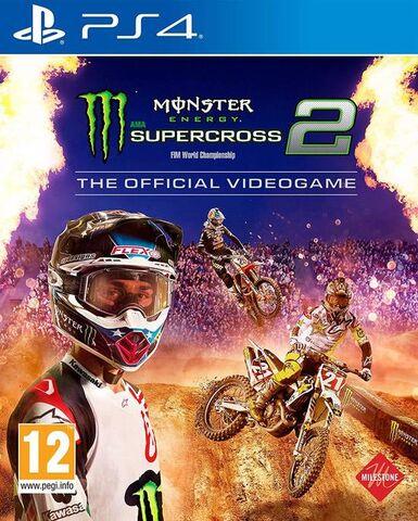 Jeu Monster Energy Supercross 2 sur PS4