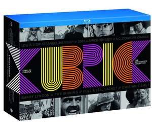 Coffret Blu-ray Stanley Kubrick - The Masterpiece Collection