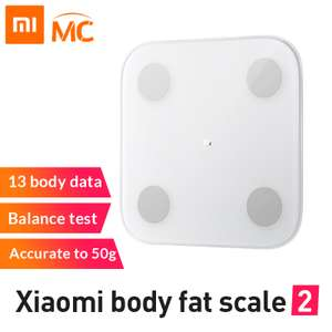 Balance connectée Xaomi Body Fat Scale 2 (23.33€ avec le code TTSD4)