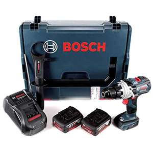 Perceuse visseuse à percussion Bosch Professional GSB 18 V-85 C - 2 batteries, L BOXX