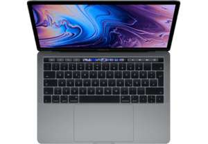 "PC Portable 13.3"" Apple MacBook Pro (2019) - Touch Bar, Intel Core I5, 8 Go RAM, 256 Go SSD, Gris sidéral (Frontaliers Suisse)"