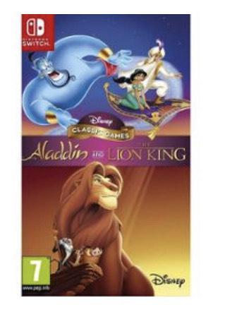 Disney Classic Games : Aladdin et Le roi lion sur Nintendo Switch
