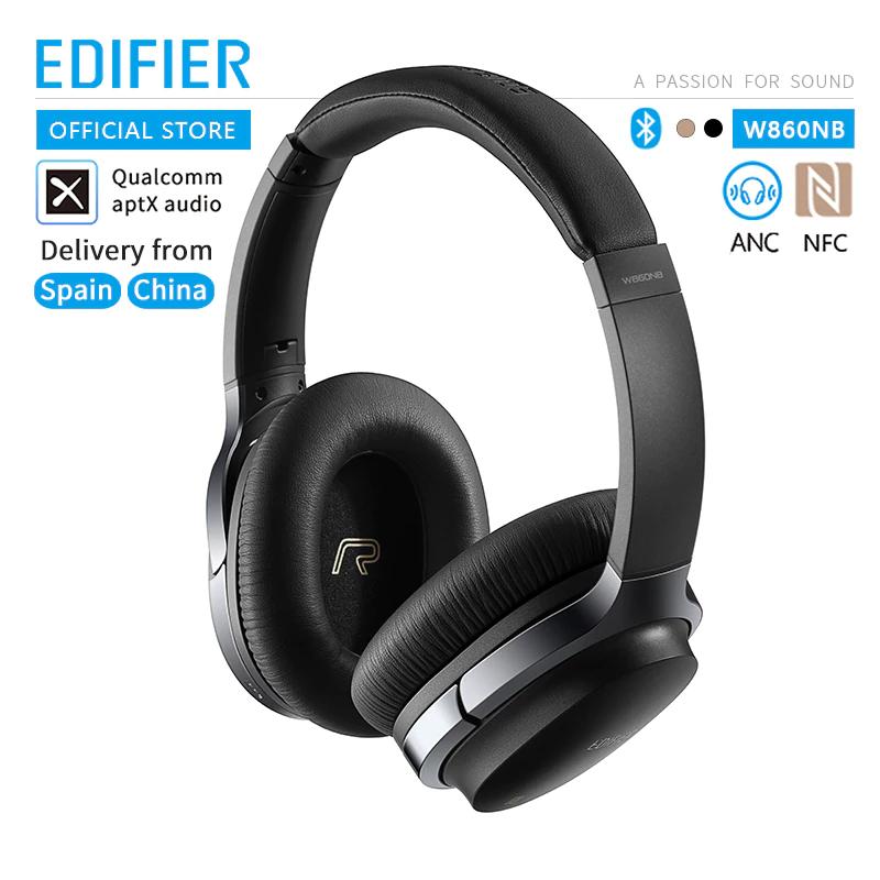 Casque sans-fil Edifier W860NB - Bluetooth, Noir ou Or