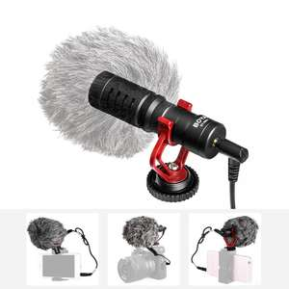 Microphone Boya BY-MM1 pour Appareil photo et Smartphone