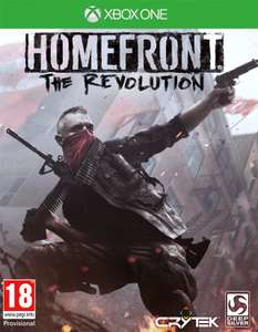 Homefront The Revolution Day One sur Xbox One (via retrait magasin)
