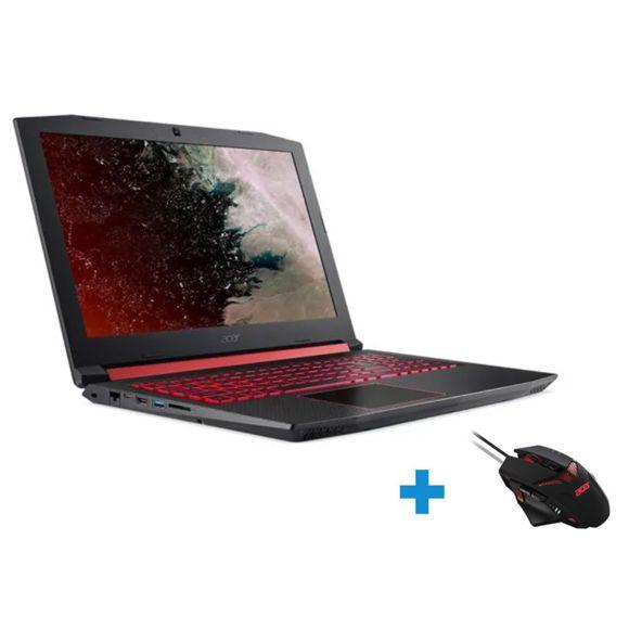 """PC Portable 15.6"""" Acer Nitro 5 AN515-52-53E1 - 144 Hz, i5-8300H, GTX 1050 4Go, HDD 1 To + SSD 128 Go, RAM 8 Go + Souris Nitro (Via ODR 100€)"""