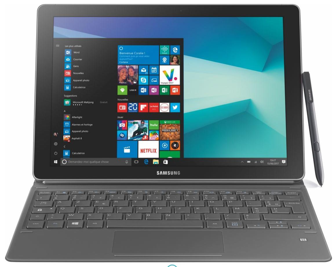 """PC Portable 12"""" Samsung Galaxy Book 12.0 - i5-7200U, 4 Go de Ram, 128 Go"""