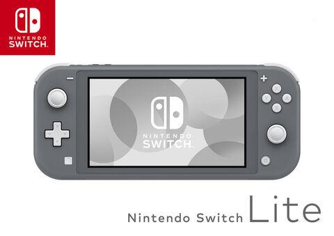 Console Nintendo Switch Lite Grise (Via 30 € en ticket Leclerc) - Creutzwald (57)