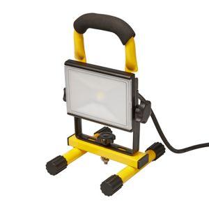 Projecteur de chantier portable LED sur support Diall - 800 lumens, 10W