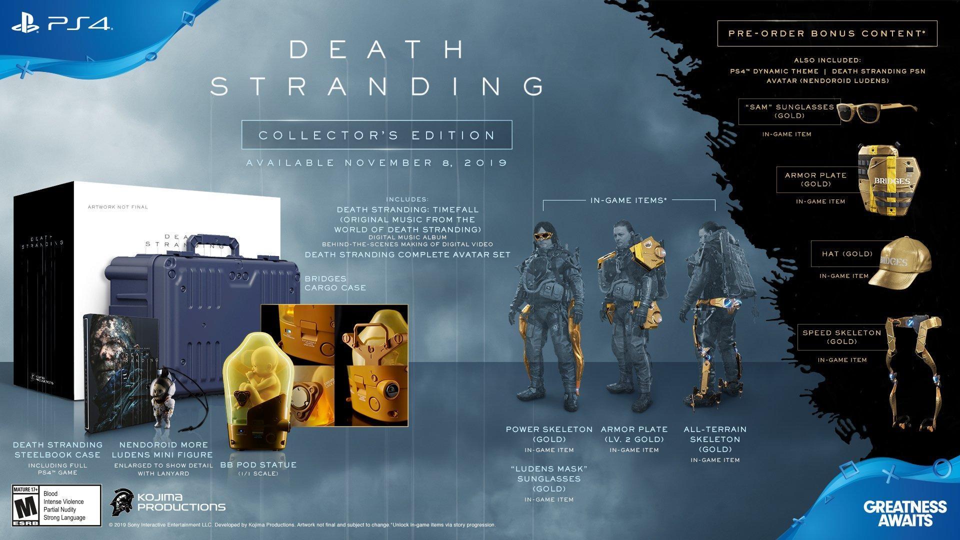 Death Stranding : Edition Collector sur PS4