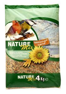 Lot de 3 sacs mélange varié de graines pour oiseaux - 3 x 4 kg
