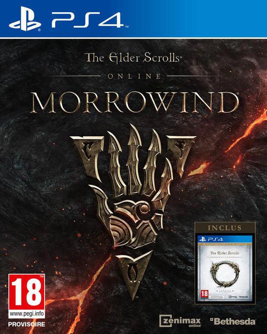 The Elder Scrolls Online Tamriel Unlimited + Extension Morrowind sur PS4