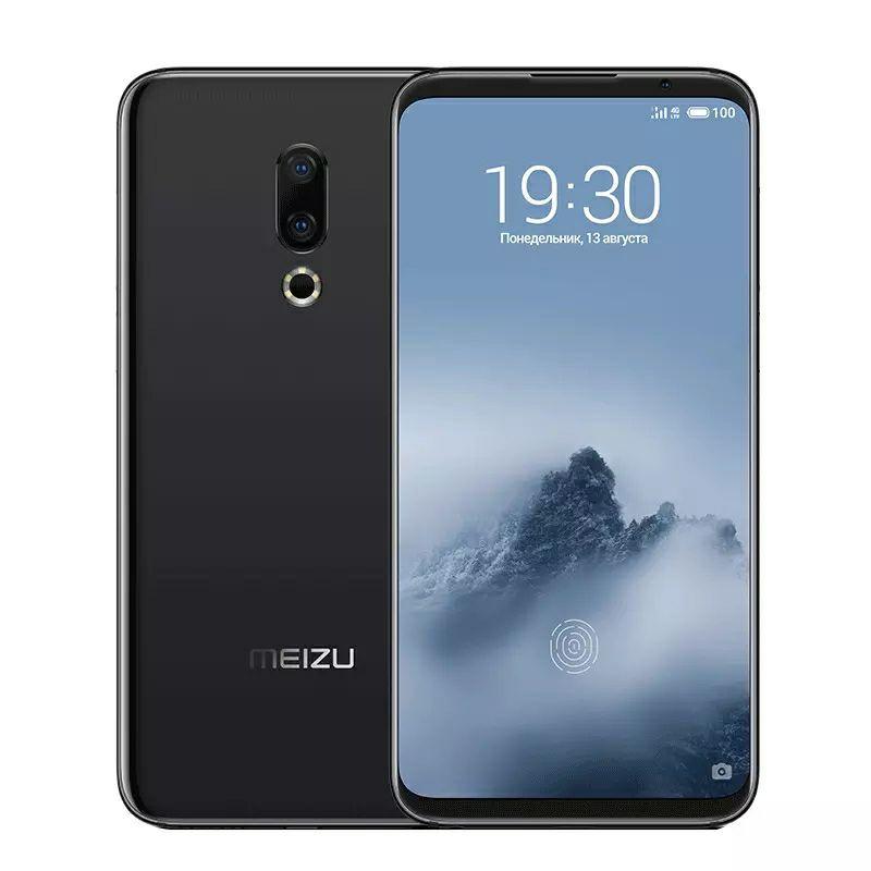 """Smartphone 6"""" Meizu 16th - Full HD+, Snapdragon 845, 6 Go RAM, 64 Go, Noir"""