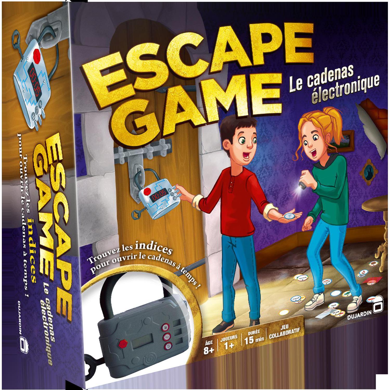 Lot de 2 jeux de société Dujardin Escape Game + Chrono Bomb' (via 10.42€ sur Carte Fidélité + 10€ de BA + 25.19€ d'ODR)