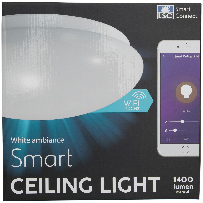 Plafonnier intelligent LSC Smart Connect - 20 watts, 1400 lumens